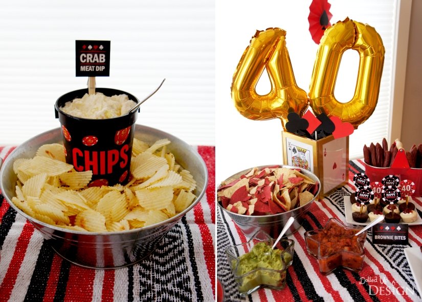 Poker Party_Chips and Dip