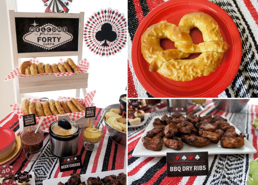 Poker Party_Soft Pretzel Bar