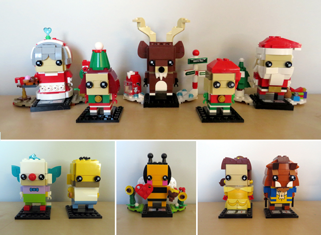 Lego BrickHeadz Collection