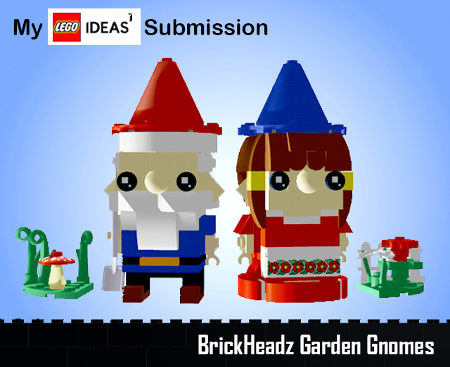 Brickheadz_GnomesBlogTitleLego IDEAS BrickHeadz Garden Gnomes Chantelle Doll